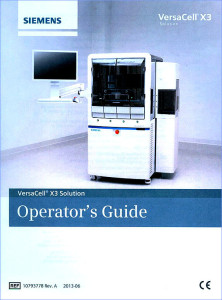VersaCell manual